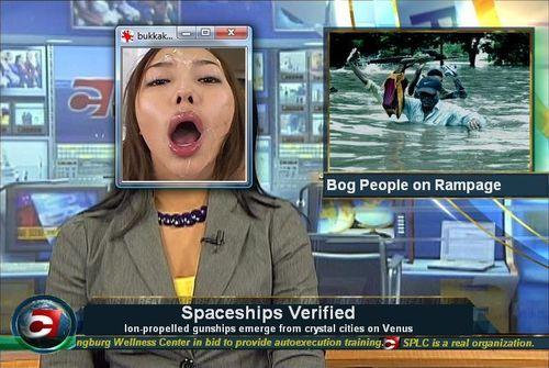 Bukkake news 1