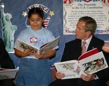 Bush_bookupsidedown-1